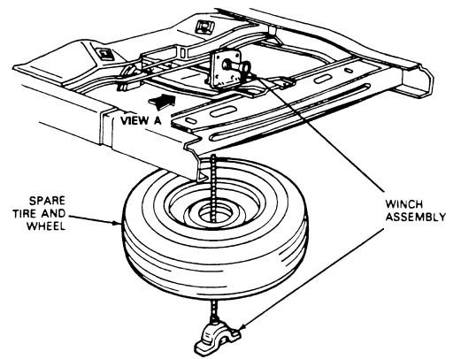Ranger Tire Diagram