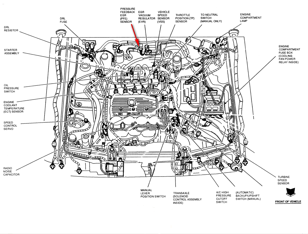 ford ranger 3 0 engine diagram 1996 ford ranger engine