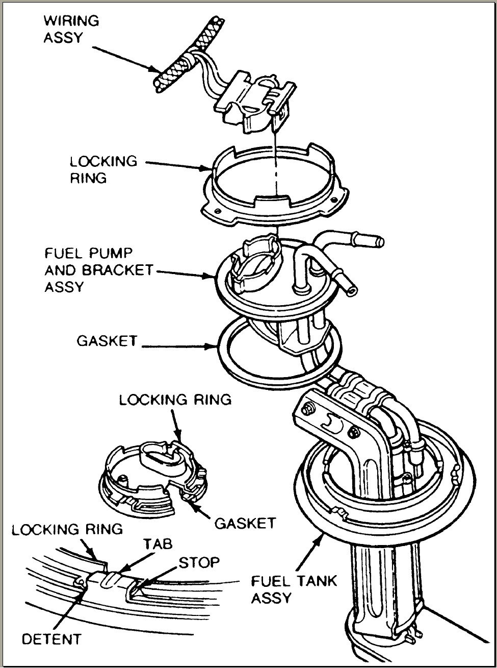 2001 mustang fuel system diagram   32 wiring diagram