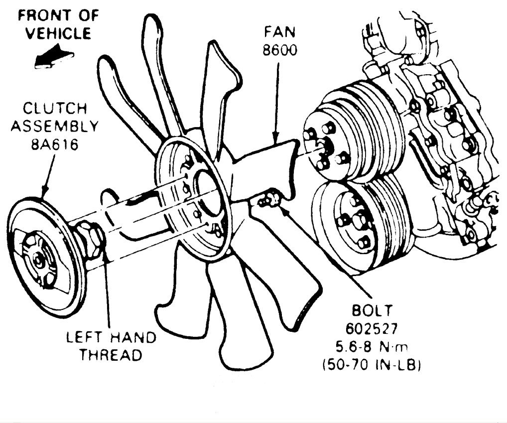 Ford Bronco Clutch Diagram Wiring Diagram