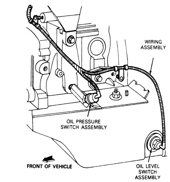 My Oil Pressure Reads Just Above The Red Line On My 1991 Ford Ranger