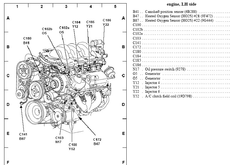94 Nissan Altima Engine Diagram likewise Cam Sensor Location 2004 Dodge Intrepid 3 5l besides 95 Acura Integra Engine Diagram as well Suzuki Sx4 Timing Belt additionally Nissan Murano Crank Sensor Location. on p 0996b43f802d6b34