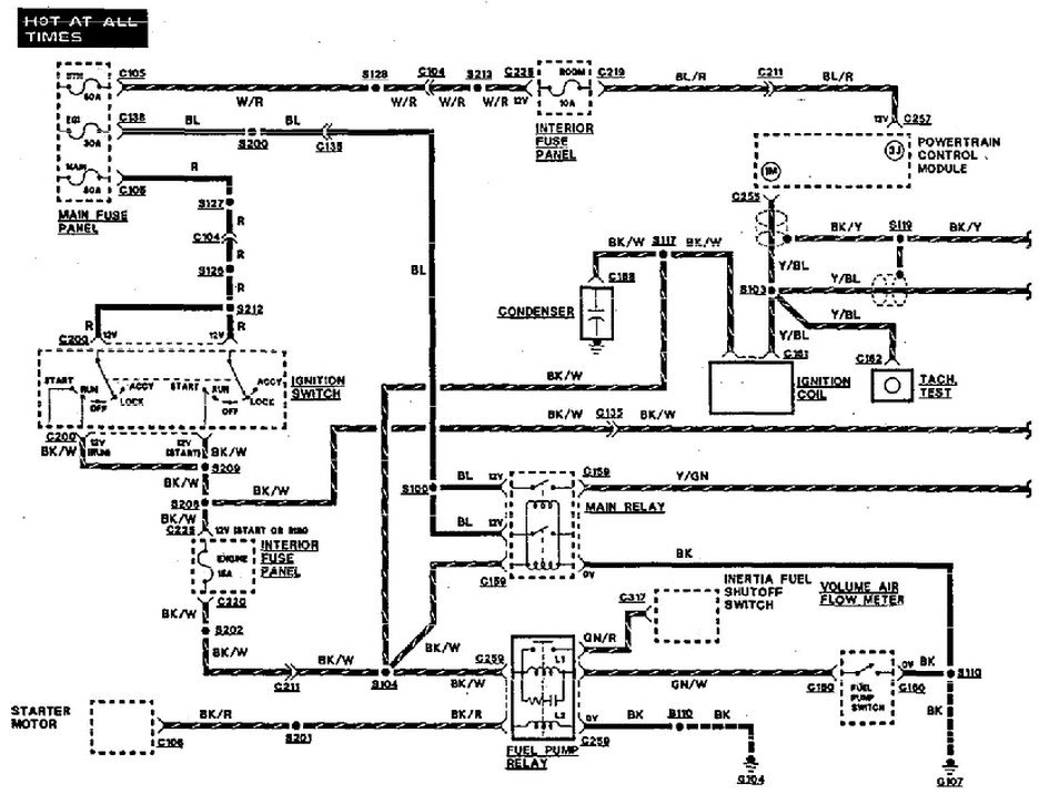93 Sable Headlight Wiring Diagram Schematic Diagram Electronic