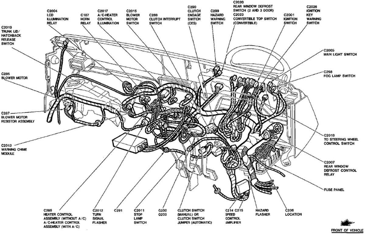 wiring diagrams  1989  diesel truck forum oilburners Fuel Pump Wiring Harness Diagram 1995 Mustang Wiring Harness Diagram