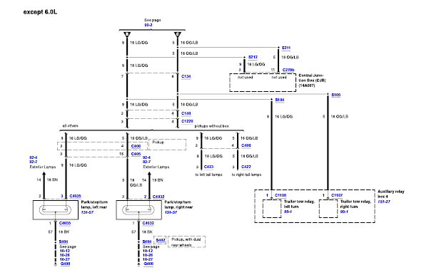 I Need The Color Schematic For The Wiring Harness That
