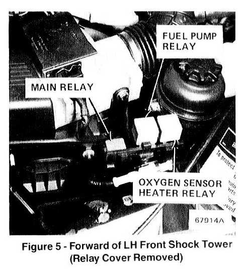 1990 325i engine cranks no electric at the fuel pump, the fuse there is also a ervice bulletin that involves the fuel pump relay, here is what it says, Mechanical Fuel Pump Diagram