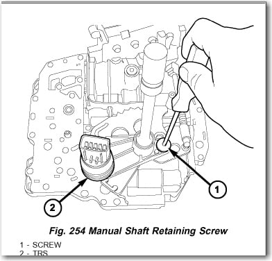 Transmission Fluid Temperature Sensor Location