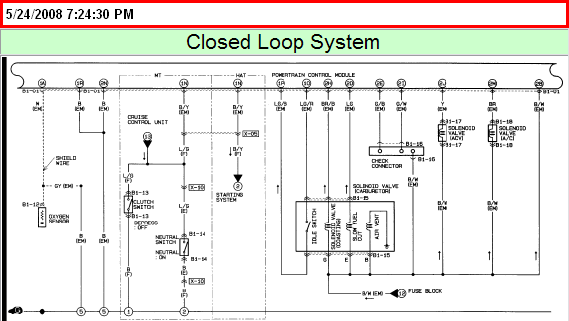 i have a 1993 mazda b2200 pickup 2.2 ltr. carb. ,the ... mazda 3 headlight wiring diagram