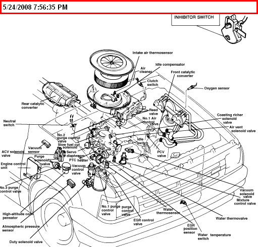 1989 mazda b2200 vacuum diagram  mazda  wiring diagram images
