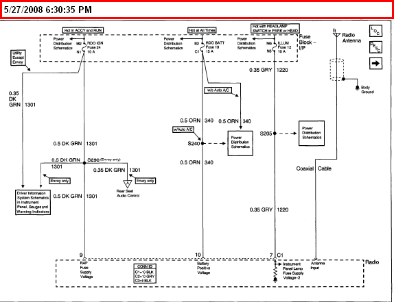 2000 Chevy S10 Radio Wiring Diagram - Collection