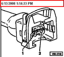 secondary air injection system i took of the two hoses on the air 99 Jetta Fuse Locations check wire between test box socket 9 2 pin connector terminal 2 for open circuit according to wiring diagram