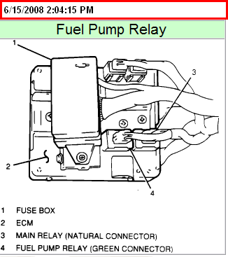 2004 chevy tracker fuel pump relay diagram detailed wiring diagram2004 chevy  tracker fuel pump relay diagram