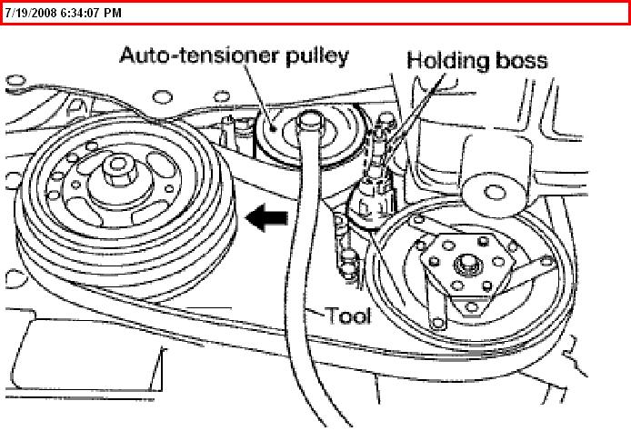 serpentine belt diagram 2004 chrysler 300 html