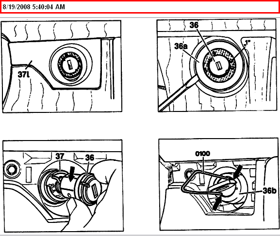How to remove ignition lock cylinder on 94 e320 w124 i have tool to