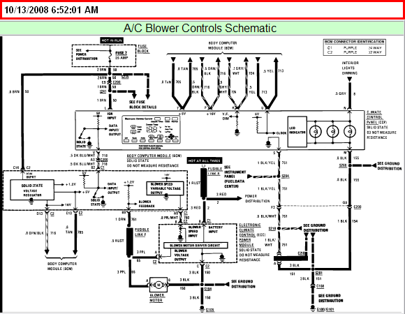 Where Can I Download A Detailed A  C Wiring Diagram For A