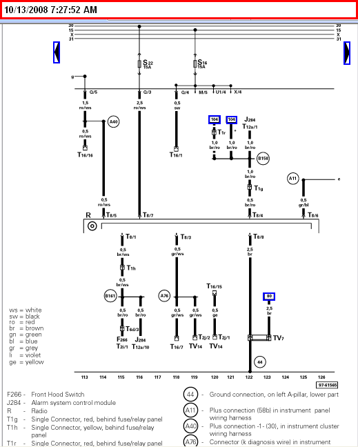 i require to down load a wiring diagram fo a vw cabrio