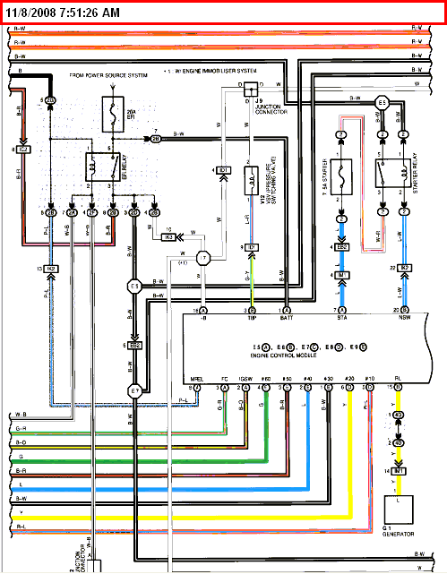I Am Looking For An Emissions Electrical Wiring Diagram For A 2001 Toyota Highlander  For Both 2
