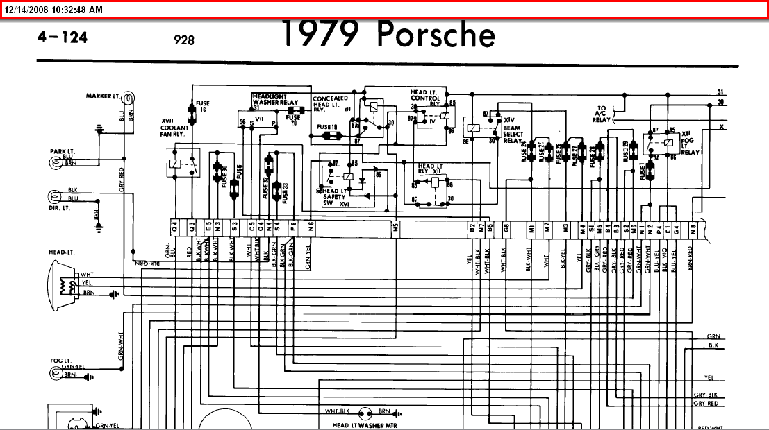 1979 porsche 928 wiring diagram  porsche  auto wiring diagram