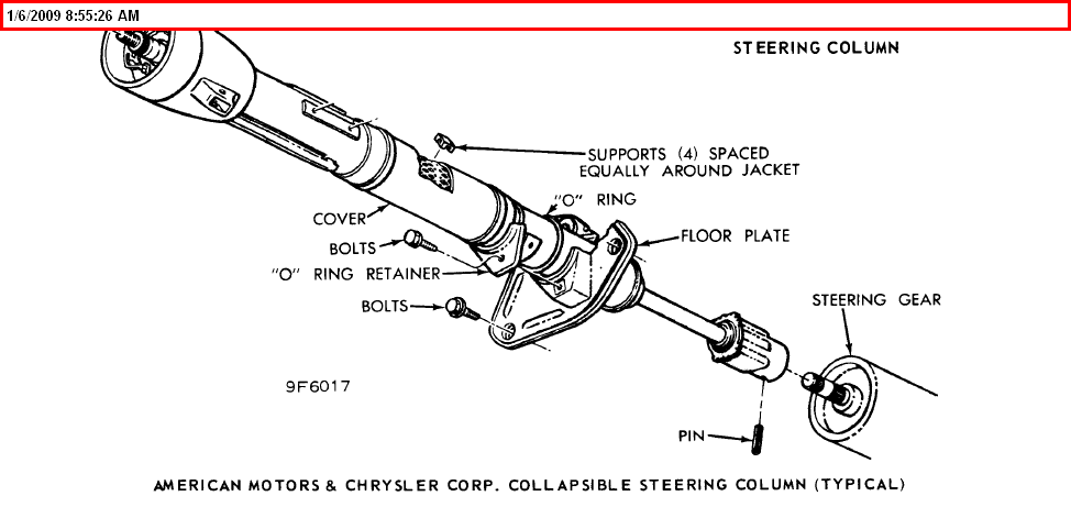 i need a    steering       column       diagram    for a 1969 floor shift