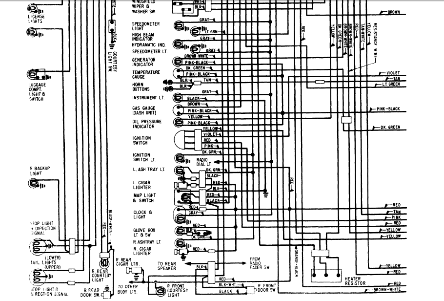 1997 Cadillac Deville Window Wiring Diagram