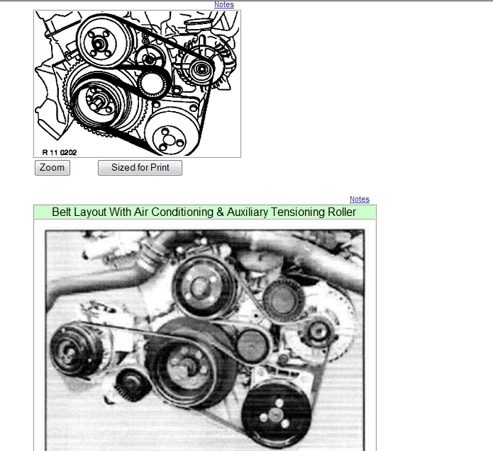 i need the serpentine belt diagram for a 2000 bmw 323i