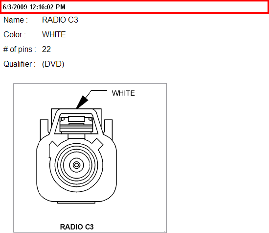 08 Dodge Radio Harness Diagram All Three Plugs 6cd Dvd Sat