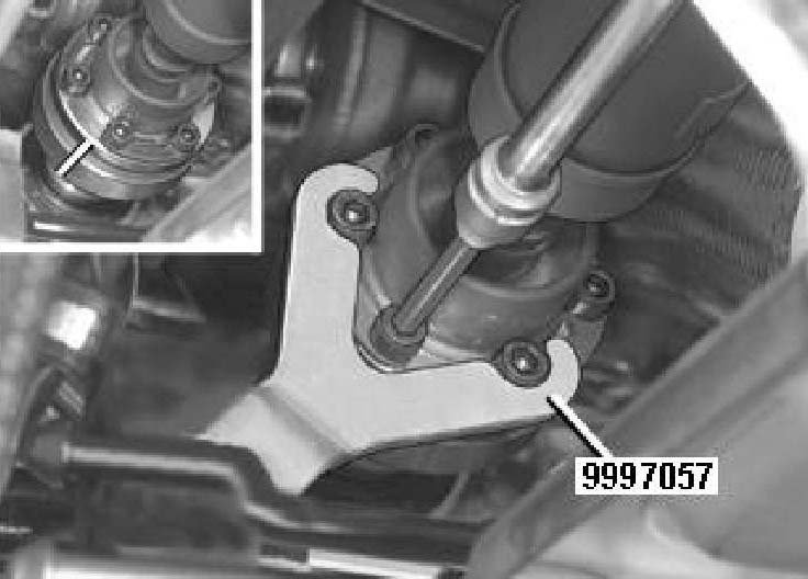 once the driveshaft is unbolted you will need to remove the passenger side cv axle this is a simple process the first thing to do is unbolt the two