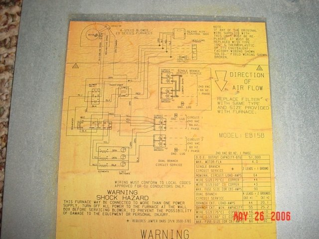 Coleman Mobile Home Electric Furnace Wiring Diagram Furnace Wiring ...