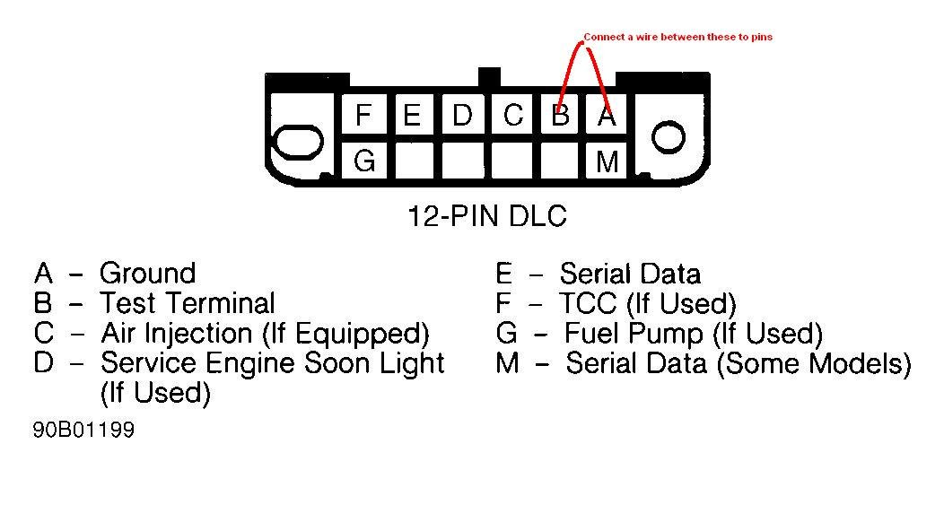 93 Beretta Engine Light On  Obd1  Codes Not Blinking