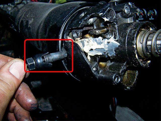 1990    GMC van Tilt    steering    wheel real loose at point of