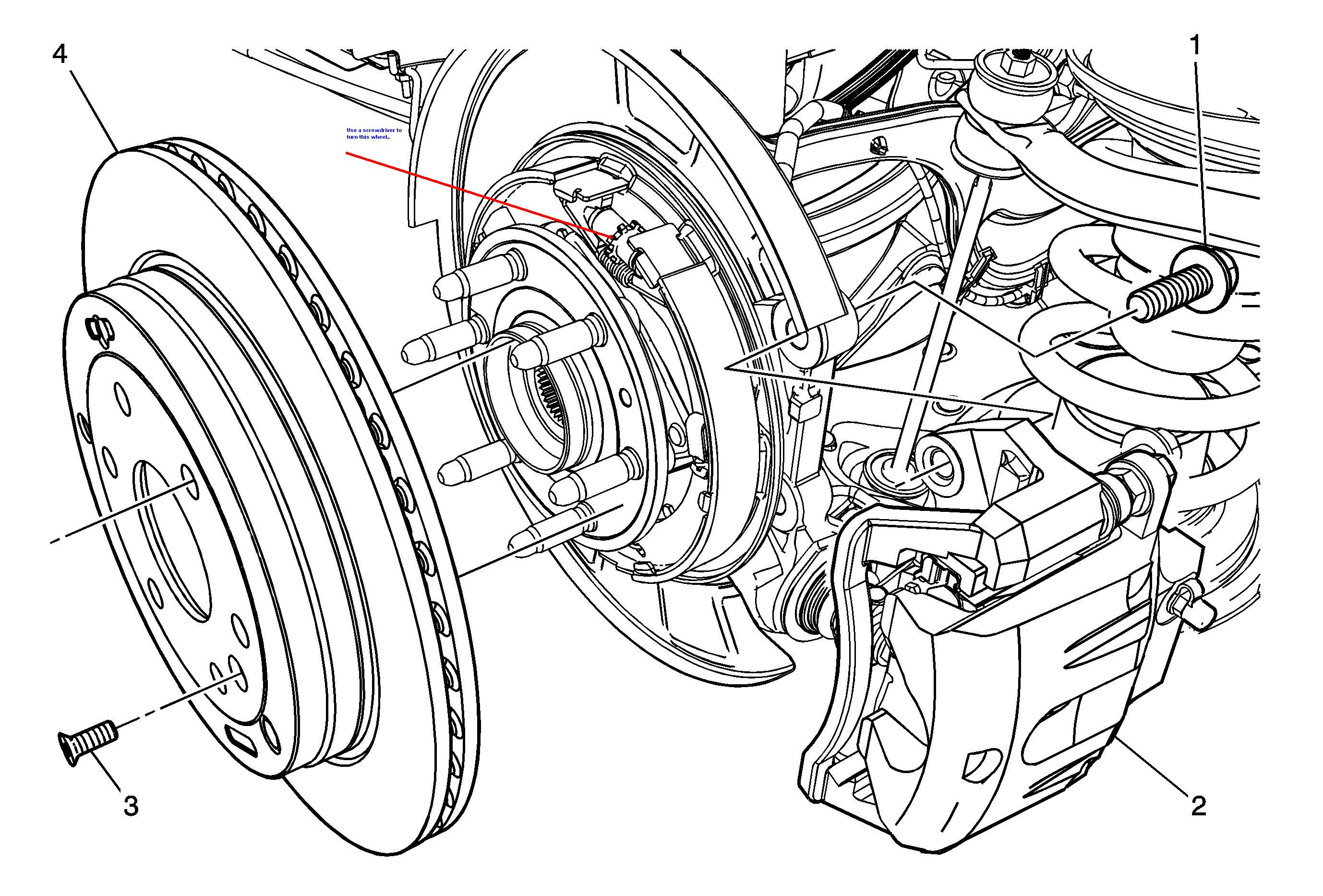 having a problem removing the rear brake rotor on a 2007 outlook 2007 Saturn Outlook Problems graphic