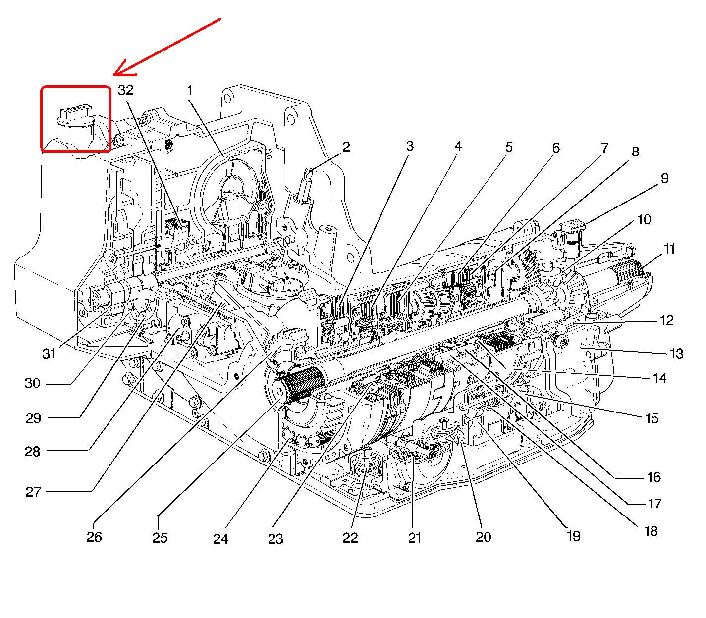 service manual  changeing gear shift assembly 2000