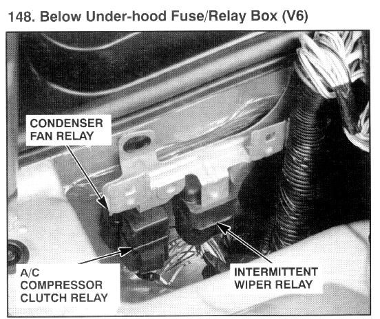 I Am Looking For The Location Of Ac Clutch Relay On My 95 Honda Rhjustanswer: 2003 Honda Accord A C Clutch Relay Location At Cicentre.net