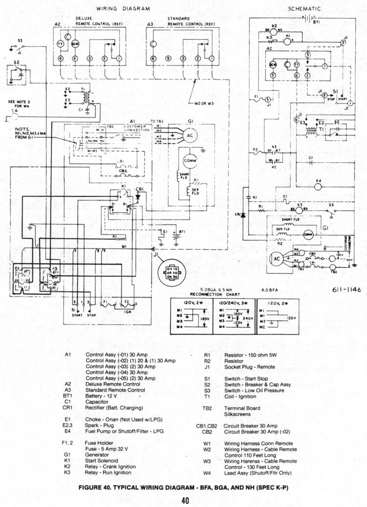 need a wiring diagram for a onan gen set for the start