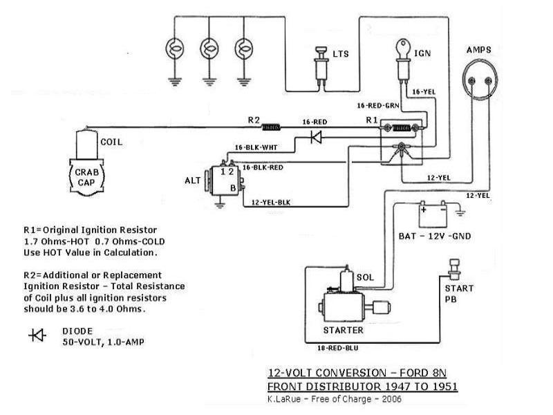 ford tractor wiring diagram 3000 series 800 series ford tractor wiring diagram i have a 1949 ford 8n tracter it had a generater 6volts ...