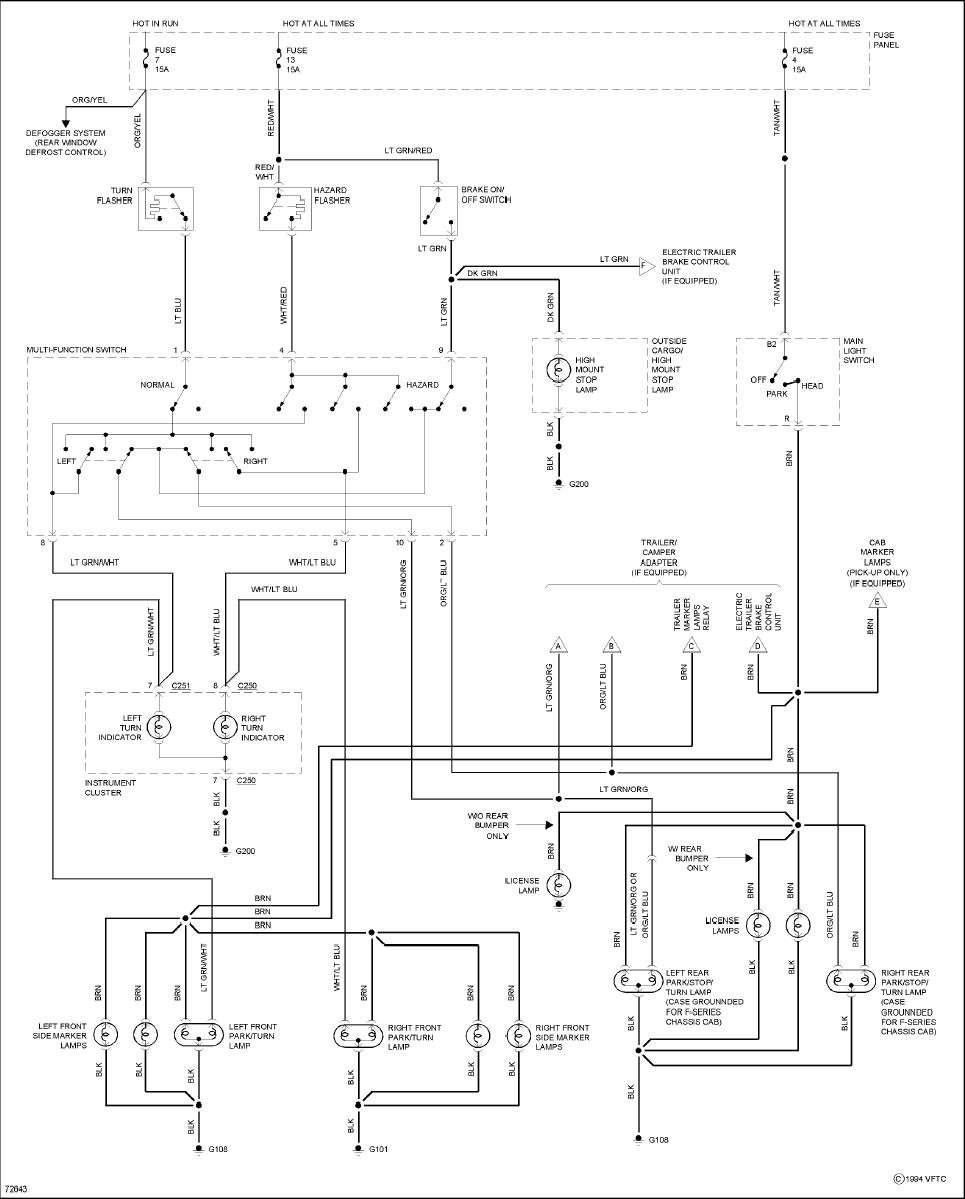 1990 F150 Brake Light Wiring Diagram