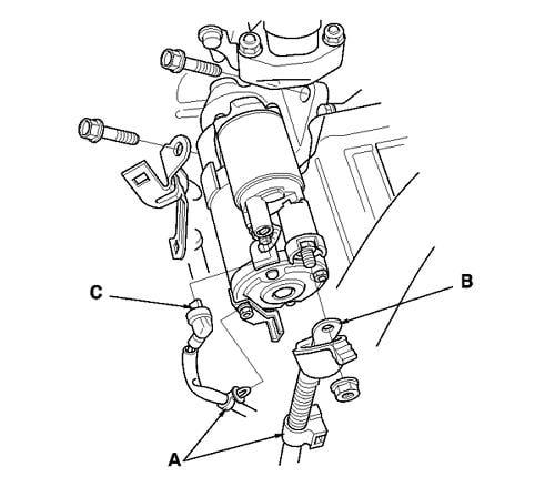on acura starter wiring diagram