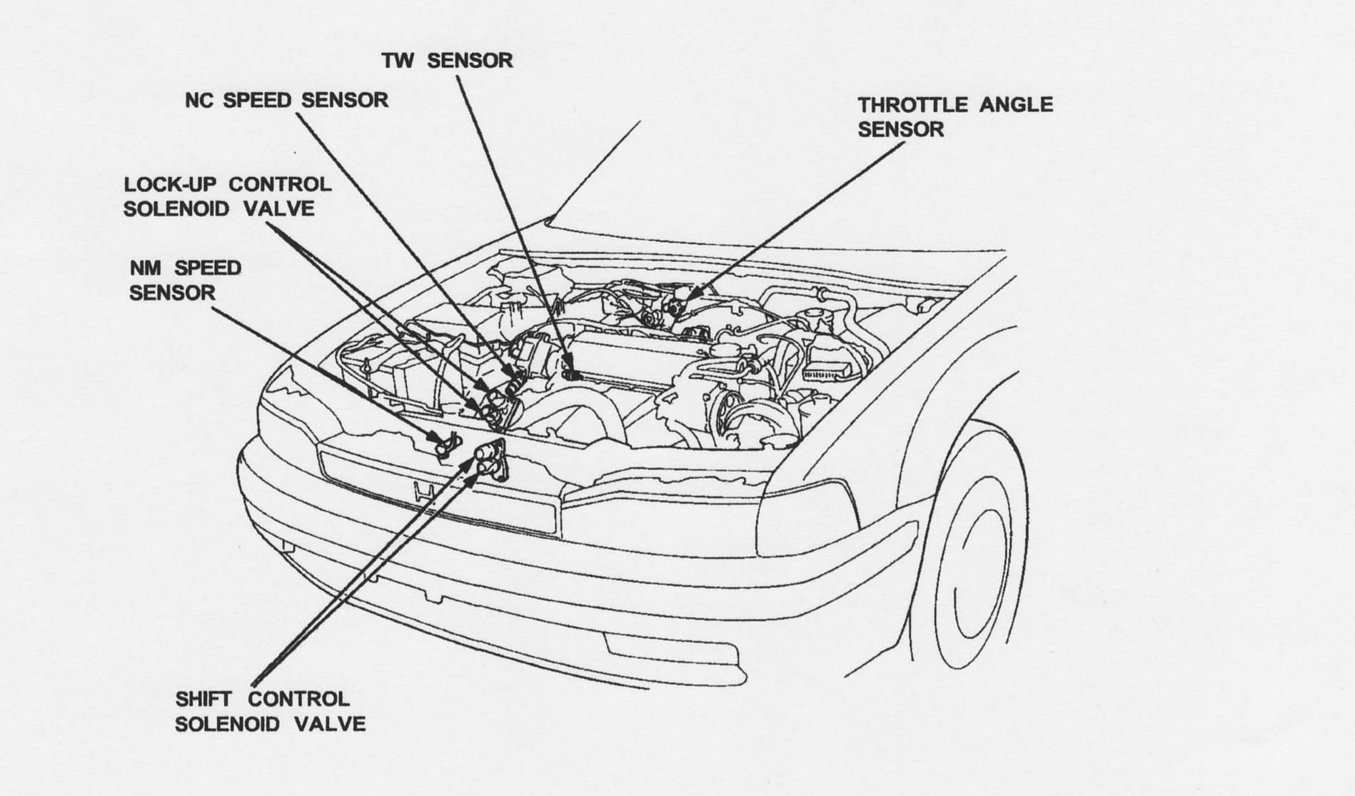 i just bought a 1990 honda accord ex  the car runs fine