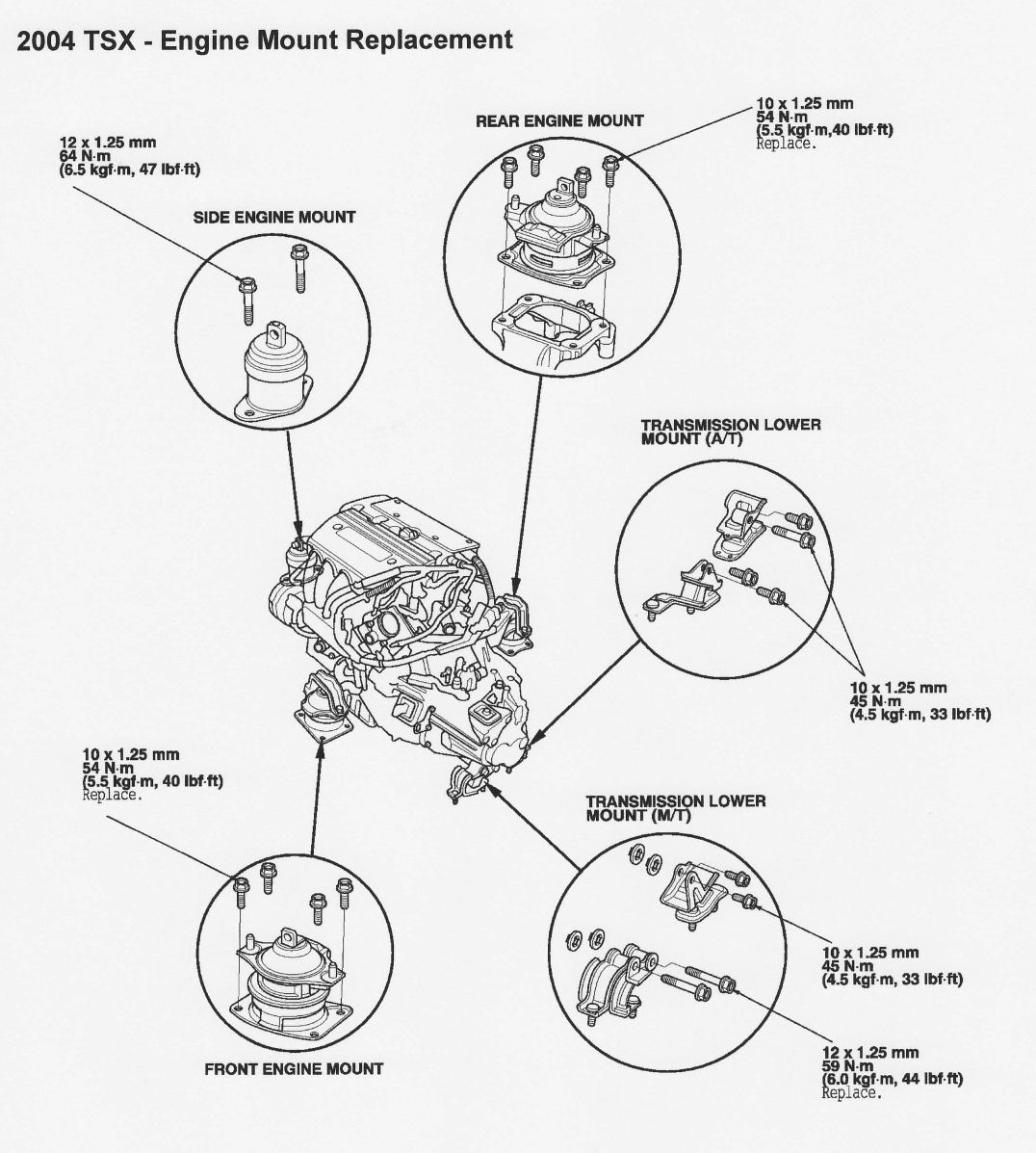 2011 acura tsx engine diagram