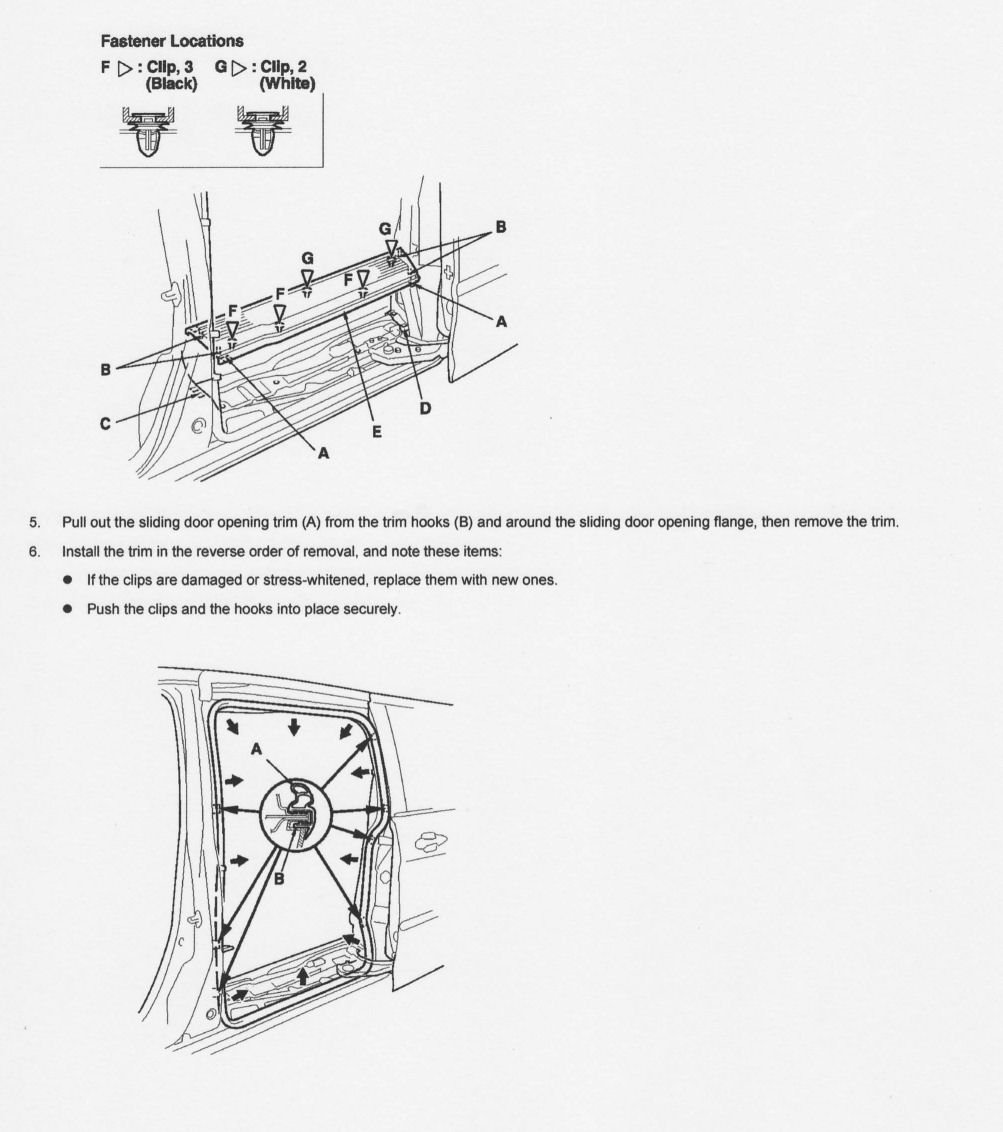 I Am Replacing A Rear Slider Relay Box 38220 Shj A02 On 2007 Diagram How To Replace Defective Sliding Door Latch Ford Graphic